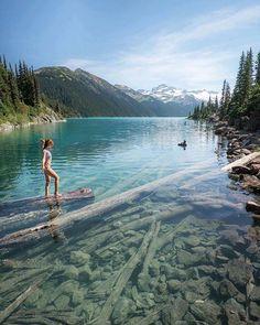 Clear waters / Garibaldi Lake Canada / Jess Wandering / via UNILAD Adventure / theadventurouslife4us.tumblr.com Say Yes To Adventure