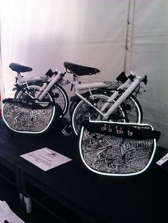 New Bike and Bag Designs by BROMPTON BIKE FAN, via Flickr