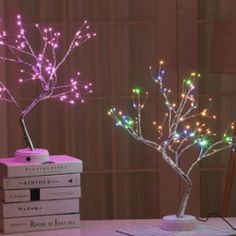 Tree Table, A Table, Table Lamp, Pink Trees, Colorful Trees, Summer Dresses Sale, Novelty Lighting, Christmas Interiors, Relax