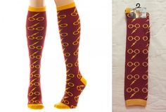 Up for sale a pair of Harry Potter socks. The package says ages 14+ and U.S…