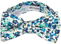 Urban Sunday Little Boys' Paris Bow Tie - Blue/White/Purp... https://www.amazon.com/dp/B00SKS9MIA/ref=cm_sw_r_pi_dp_x_.qEXybW3EF8S1