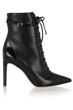 The key to making an entrance? Striking, pointed-toe lace-ups. These boots will elevate her winter wardrobe. Sam Edelman Bryton Boots, $200, samedelman.com   - HarpersBAZAAR.com