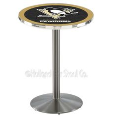 Pittsburgh Penguins Pub Table by Holland