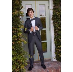 Hayes Grier in a tuxedo in his new recent photo shoot that included Jordyn jones in late 2015!