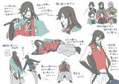 埋め込み Chica Anime Manga, Manga Games, Touken Ranbu, In My Feelings, Character Design, Kawaii, Animation, Fan Art, Drawings
