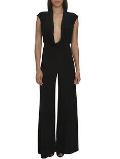Arden B. Women's Cowl Neck Jumpsuit Xs Black