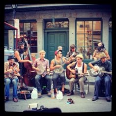 See / Hear: street music in New Orleans