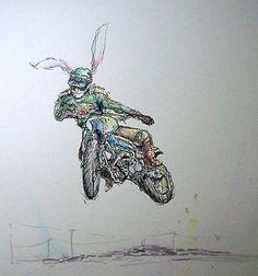 Ottonero Cafe Racer: Tomoki Noza