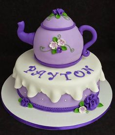 How to DIY Beautiful Teapot Cake