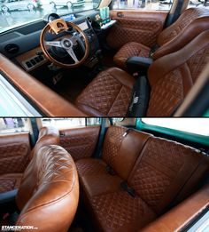 Scion xB @ Crafted Fitment... Not a huge fan of the xB's, but this interior is absolutely outstanding.