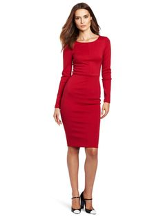 Robert Rodriguez Women's Long Sleeve Fitted Pencil Dress    Why we love it: It makes a sleek statement -- ideal for this year's holiday parties.    Price: $395