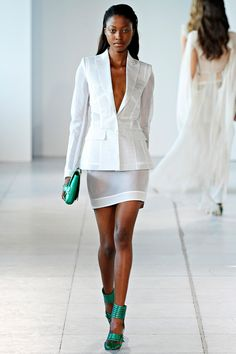 Antonio Berardi Spring 2012 – Vogue Nyasha Matonhodze