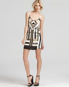 Parker Beading Dress - Hayden Chrysler  Bloomingdale's