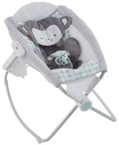 Check out the Sweet Surroundings Monkey Deluxe Auto Rock 'n Play Sleeper at the official Fisher-Price website. Explore all our baby and toddler gear, toys and accessories today! Fisher Price, Baby Dome, Rock N Play Sleeper, Pack N Play, Baby Bouncer, Baby Swings, Little Monkeys, Baby Registry, Baby Gear