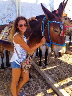 #santorini #greece #greecetravel #santorinigreece #santoriniguide #donkey Santorini Greece, Greece Travel, Donkey, Best Part Of Me, Travel Tips, Donkeys, Greece Vacation