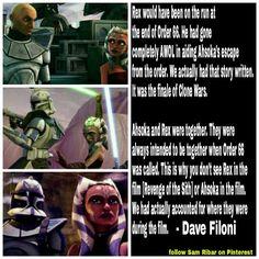Words spoken by Dave Filoni