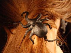 Octopus hair bun cover and stick.