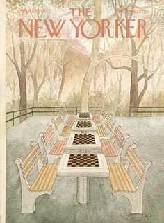 The New Yorker - Monday, September 29, 1975 - Issue # 2641 - Vol. 51 - N° 32 - Cover by : Charles E. Martin