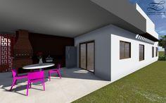 Casa JM - Lorena Tartas | Arquitetura e Urbanismo -  Projeto de uma residência térrea