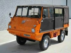 Steyr Puch Haflinger Suv Trucks, Mini Trucks, Funny Looking Cars, Chevy, Super 4, Suv Models, Steyr, Small Cars, Concept Cars