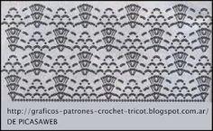 PATRONES=GANCHILLO = CROCHET = GRAFICOS =TRICOT = DOS AGUJAS: patrones de tejidos a ganchillo = crochet su grafico = crochet patterns woven crochet your graph