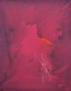 "Saatchi Art Artist: Yuri Pysar; Minimalist Abstract Acrylic 2014 Painting ""Abstract Ballerina Painting ""Deep Red"" from Ballet Series-2014"""