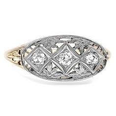 The Ruana Ring #BrilliantEarth #Vintage