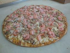 Pizza Especial de Mariscos