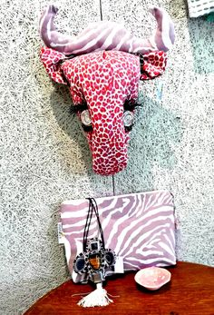 Shop our collection of textile hunting trophies. These unique trophy-style designs feature African animals including Antelope, Elephant, Giraffe and Zebra. Handmade in South Africa from hand-printed fabrics and organic materials. Hand Printed Fabric, Printing On Fabric, Giraffe, Elephant, African Animals, Textiles, Unique, Prints, Handmade