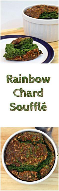 Rainbow Chard Souffl