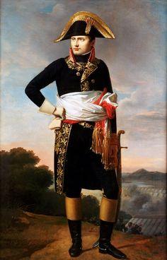 Emperor Napoleon I of France, née Bonaparte (1769-1821) Born on 15 August 1769, to Carlo Maria di Buonaparte and Maria Letizia Ramolino, in his family's ancestral home Casa Buonaparte in Ajaccio, the capital of Corsica. This was a year after the island was transferred to France by the Republic of Genoa.