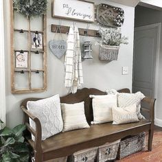awesome 38 Cool and Eye-Catchy Rustic Wall Decorative Ideas
