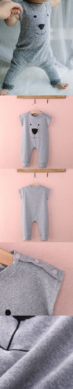 Baby Rompers Newborn Baby Clothes Infant Jumpsuit Animals Printed Next Body Baby…