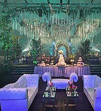 """For the""""Twilight Saga: Breaking Dawn"""" premiere, Chad Hudson Events re-creates an exact replica of the wedding scene. Photo courtesy Chad Hudson Events."""