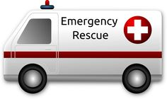 Emergency Rescue Ambulance by @Merlin2525, A modern Ambulance. Thanks go to the following Open Clip Art Artist: openclipart.org/detail/73315/ambulance-by-golo. Licence: Public Domain., on @openclipart