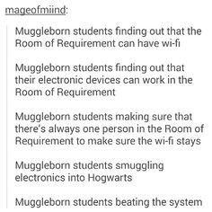 Muggleborn students