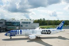 The #Boeing 787 team is proud to deliver the @FlyANA_official R2-D2 ANA JET. See you in the sky soon!