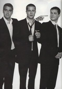 not only are these three seriouslyyy hot men, but they also star in one of the greatest movies ever created.