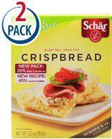 Schar Crispbread Gluten Free — 4.4 oz Each / Pack of 2