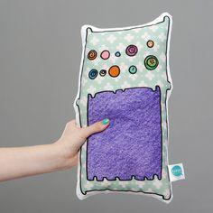 Martha plushie plush monster cushion pillow toy www.rarrrdolls.co.uk