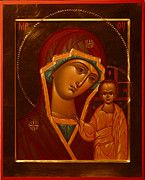 Virgin And Child Icon Religious Art by Christian Art