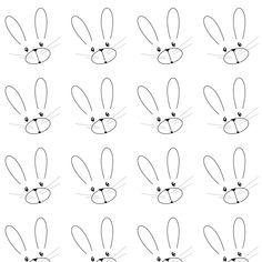 bunny_line_art_paper.jpg (1200×1200)