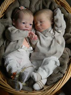 Reborn Presley~My Forever Babies~Awarded Artist #29/1500 LE TWINS/Girl