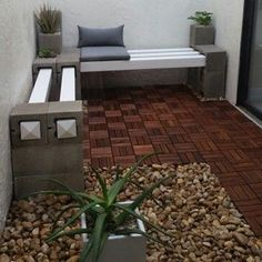 Painted Or Not, Breeze Blocks And Wood Can Be Used In A Variety Of Ways
