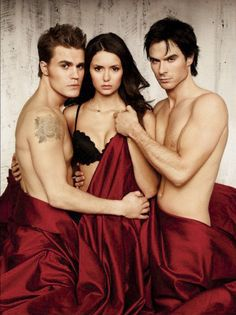 Ian, Nina and Paul for Entertainment Magazine.
