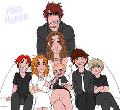 The Kirkland family photo -3- so cute!! ||Ask the UK bros|| #Hetalia