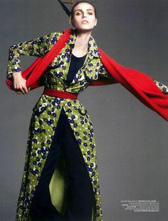 Isiga Dogru | Karlina Caune | Jem Mitchell #photography | Vogue Turkey August 2012