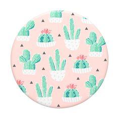 Deco Cactus, Cactus Pot, Cell Phone Grip, Cell Phone Holder, Cute Phone Cases, Iphone Cases, Cute Popsockets, Diy Pop Socket, Pop Sockets Iphone