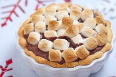 Decadent Dessert Recipe: S'mores Brownie Pudding Cake
