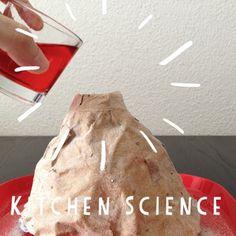 schaeresteipapier: In der Küche bricht ein Vulkan aus